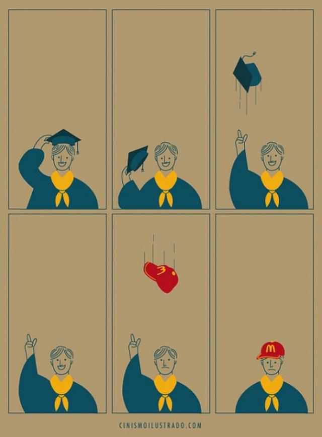 Cuộc sống sau Đại học chưa bao giờ là màu hồng