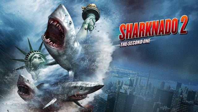 Sharknado - nước Mỹ bị tấn công bởi cơn lốc xoáy tạo nên bởi hàng nghìn con cá mập, một trong những ví dụ kinh điển của phim dở