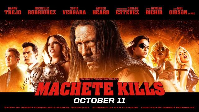 Machete Kills. bộ phim hành động máu me bị chê tơi tả nhưng cái hay của nó chính là sự rẻ tiền