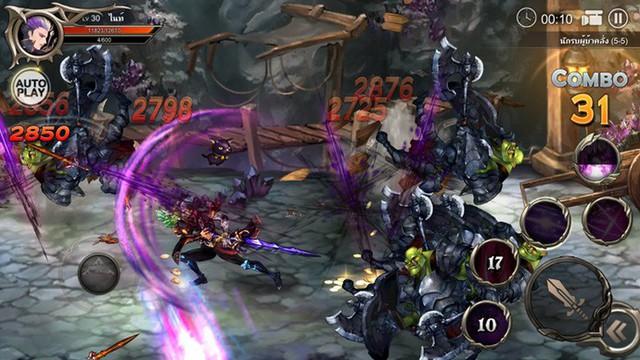 """Phong cách chiến đấu """"điên cuồng"""" là điểm nhấn lớn nhất của Dragon Spear"""