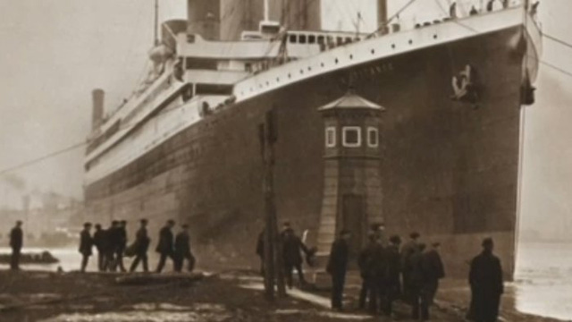 Tấm ảnh này là bằng chứng mới ủng hộ cho giả thuyết về vụ cháy góp phần làm chìm Titanic.