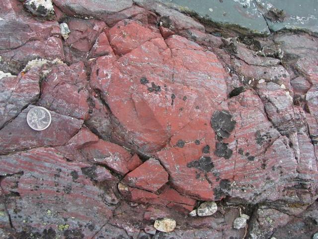 Đây là mẫu đá được tìm thấy tại Canada.
