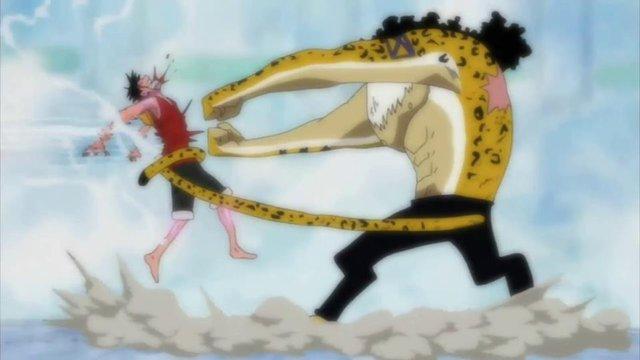 Đặc biệt, nếu người sử dụng có thể thành thạo và làm chủ được 6 kĩ năng trên thì có thể dùng được đòn tấn công bí mật và tối thượng thứ 7 Rokuogan của kỹ thuật Rokushiki bằng cách đưa hai nắm đấm ra trước, hướng về phía đối thủ và tạo ra đòn t.ấ.n c.ôn.g dạng sóng xung kích.