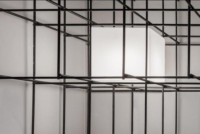 Theo lời các kiến trúc sư trẻ, toàn bộ thép được sử dụng ở đây đều là thép không gỉ.