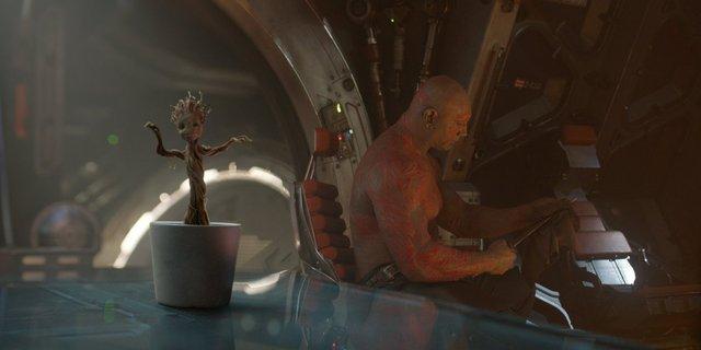 Groot cũng có gu cảm thụ âm nhạc như Star-lord đó nhé