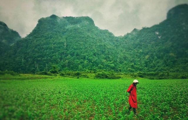 Một bức ảnh mà đoàn phim Kong ghi lại ở Quảng Bình (Nguồn:@voteroberts/Instagram)