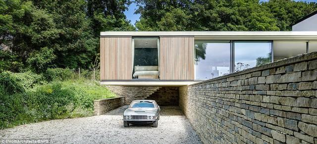 KTS chủ trì Magnus Ström đã làm việc rất chặt chẽ với các kỹ sư kết cấu để tạo ra thiết kế nổi cho ngôi nhà