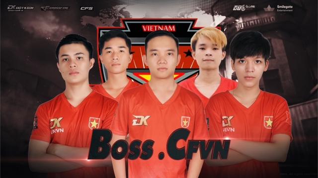 BossCFVN và EvaTeams là đại diện Việt Nam tham dự CFSI 2017