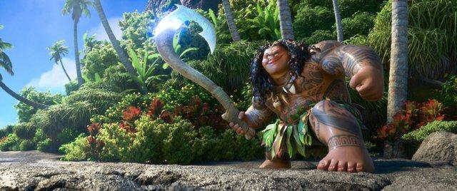 """Dwayne còn tham gia lồng tiếng cho một nhân vật quan trọng trong bộ phim hoạt hình Disney - """"Moana""""."""