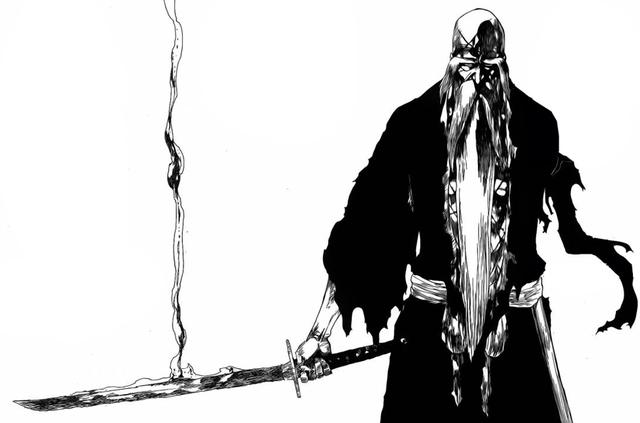"""Nhìn """"già lão"""" thế nhưng thực chất Yamamoto lại sở hữu thanh Trảm Hồn Đao hệ hỏa mạnh nhất của Linh Giới"""