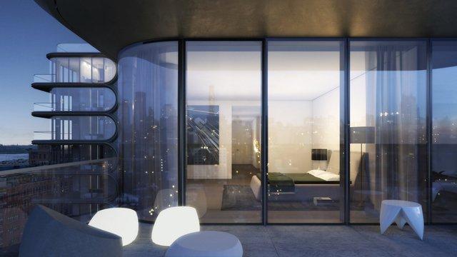 Giá cho mỗi căn hộ dao động từ 4,9 triệu USD cho một căn hộ 2 phòng ngủ đến căn penthouse đắt nhất 50 triệu USD.