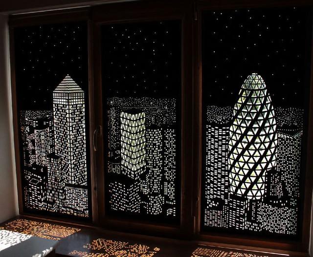 Không khác gì bạn đang ở một căn hộ sang trọng trên đỉnh những tòa nhà chọc trời!