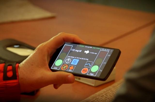 Người bệnh tiểu đường có thể sử dụng điện thoại để điều khiển mức insulin trong cơ thể
