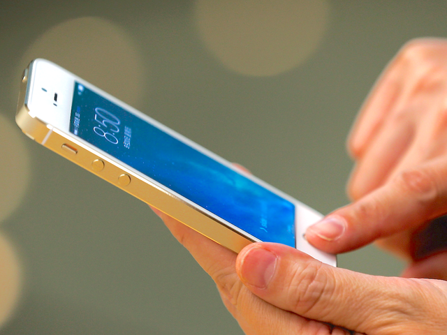 Touch ID lần đầu xuất hiện trên iPhone 5S