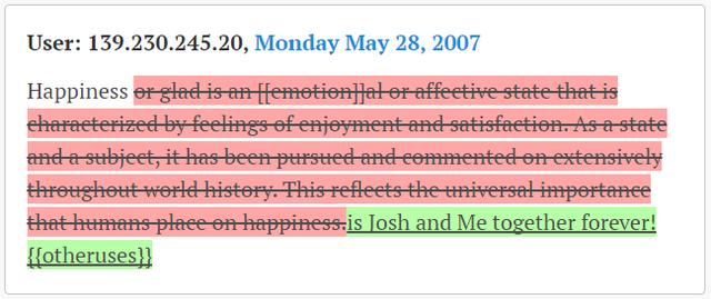 """Hay xác nhận một mối quan hệ: """"Hạnh phúc là khi tôi và Josh được ở bên nhau mãi mãi""""."""