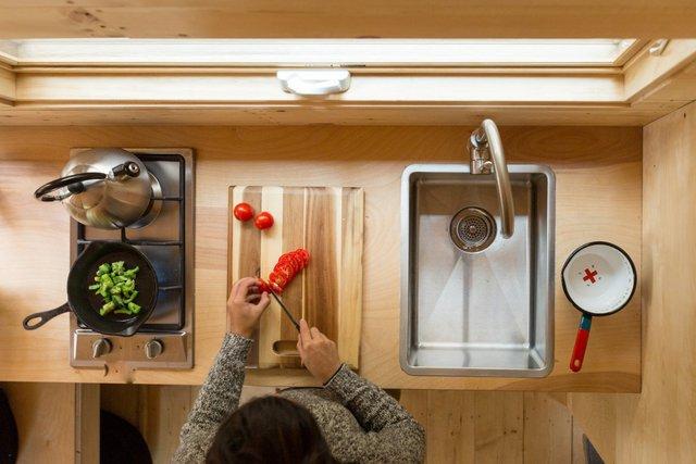 Nấu nướng ở đây cũng không thành vấn đề với căn bếp tiện nghi