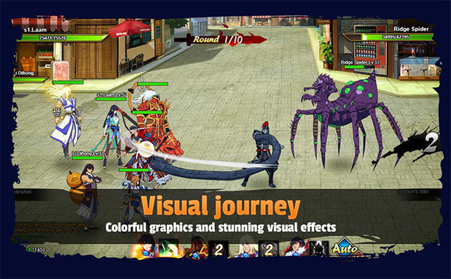 Rakshasa – Street of Demons: Game online tuyệt phẩm dựa trên truyện tranh ăn khách - Ảnh 2.