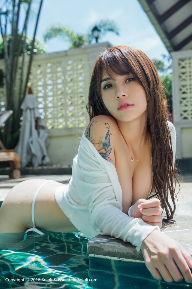 Chảy máu mũi với vòng 1 hoàn hảo của Xia Mei Jang - mỹ nữ vạn người mê - Ảnh 2.