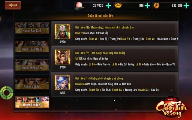 Chơi thử 3 chế độ triệu hoán thần tướng độc nhất vô nhị trong Chiến Thần Vô Song - Ảnh 7.
