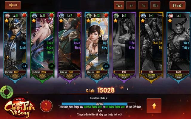 Chơi thử 3 chế độ triệu hoán thần tướng độc nhất vô nhị trong Chiến Thần Vô Song - Ảnh 2.