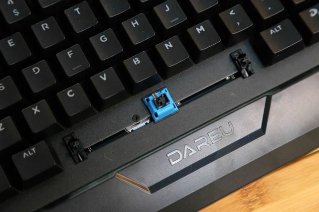 DareU CK526 - Bàn phím cơ quang hàng bình dân chất lượng cao gõ mỏi tay không sợ hỏng - Ảnh 9.