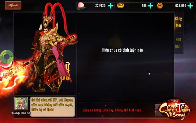 Không cần phải lên group hỏi nữa, chơi Chiến Thần Vô Song có ngay tính năng đánh giá tướng ingame - Ảnh 6.