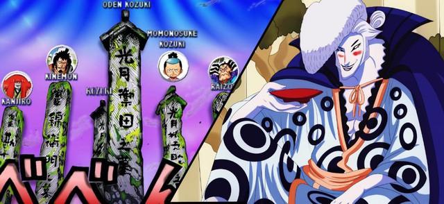 Giả thuyết One Piece: Phải chăng vợ của Oden chính là người có năng lực Trái ác quỷ xuyên không đưa con trai mình cùng nhóm Kinemon tới tương lai? - Ảnh 4.