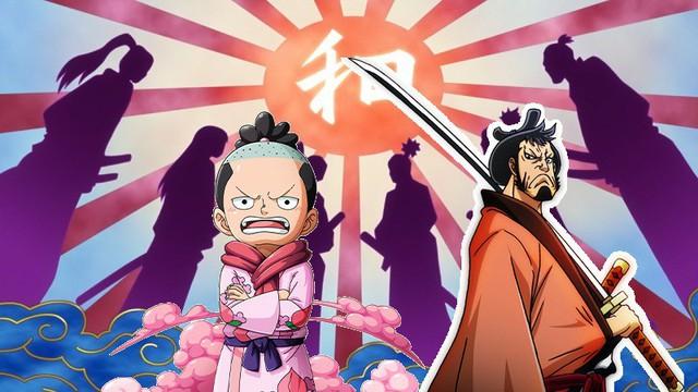 Giả thuyết One Piece: Phải chăng vợ của Oden chính là người có năng lực Trái ác quỷ xuyên không đưa con trai mình cùng nhóm Kinemon tới tương lai? - Ảnh 3.