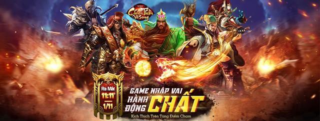 Tải ngay siêu phẩm nhập vai hành động ARPG Chiến Thần Vô Song ra mắt 11:00 ngày 01/11 - Ảnh 1.