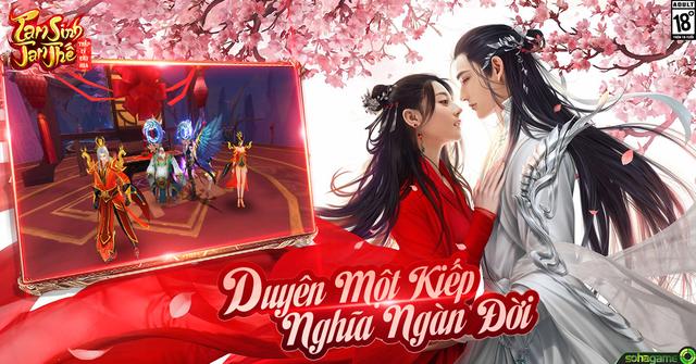 Kết hôn trong Tam Sinh Tam Thế chính là hẹn ước trăm năm, qua thiên trường địa cửu - Ảnh 6.