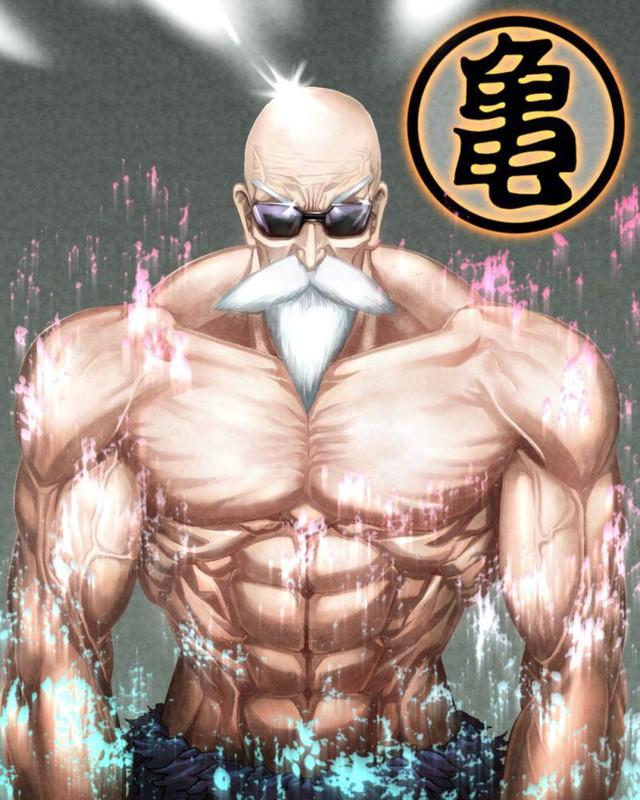 Xem bộ tranh fan art cực hài hước về quy lão Kame của Dragon Ball - Ảnh 3.