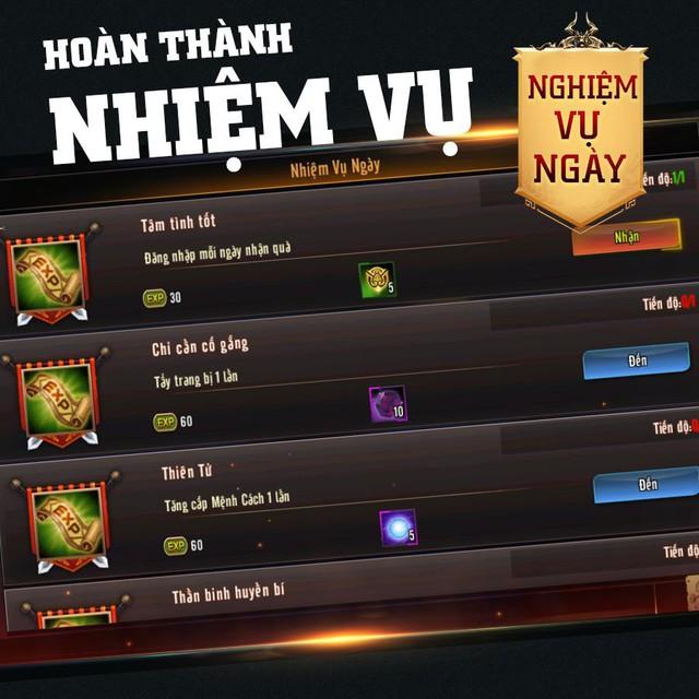 Mẹo lên Level thần tốc trong Chiến Thần Vô Song dành cho game thủ đua Top - Ảnh 6.