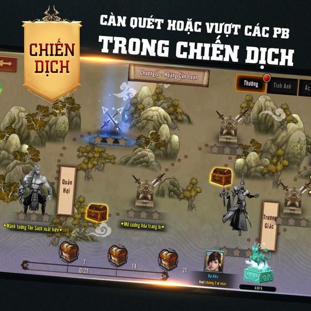 Mẹo lên Level thần tốc trong Chiến Thần Vô Song dành cho game thủ đua Top - Ảnh 7.