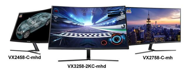 ViewSonic giới thiệu loạt màn hình cong tuyệt hảo cho game thủ Việt Nam - Ảnh 1.