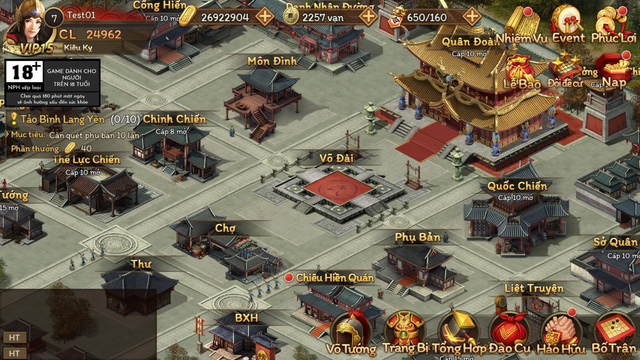 Game chiến thuật thú vị Cửu Châu Tam Quốc Chí được mua về Việt Nam, sẽ mở cửa ngay cuối tháng 11 này - Ảnh 1.