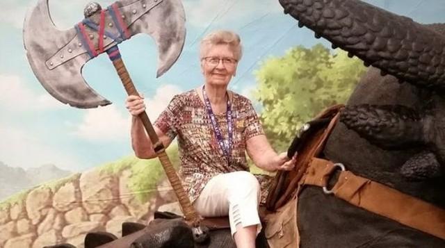Cụ bà 80 tuổi trở thành NPC trong Elder Scroll 6 ? - Ảnh 1.