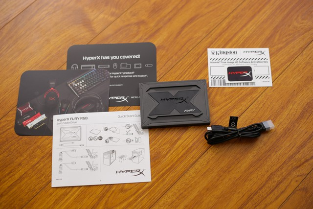 Kingston HyperX Fury RGB - Chỉ là SSD tốc độ cao thôi mà, có cần phải đẹp đến thế này không? - Ảnh 2.