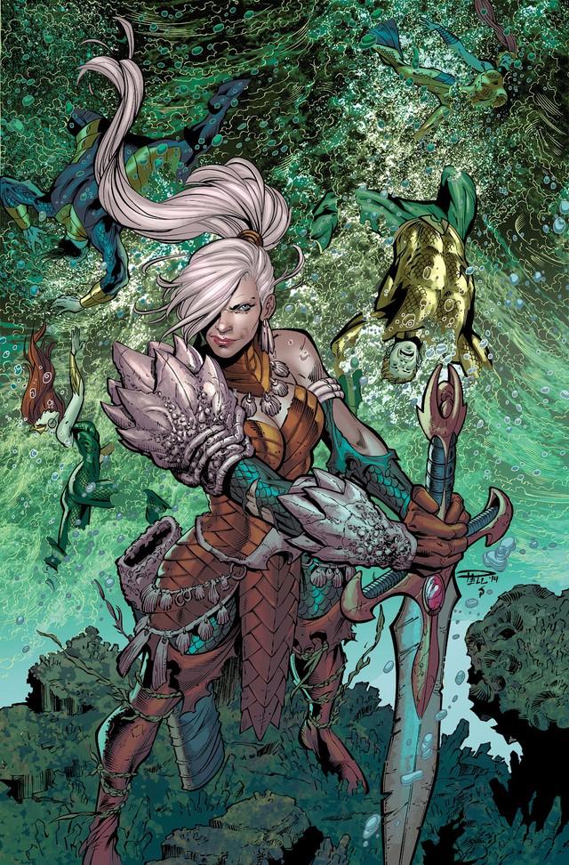 15 chi tiết thú vị chỉ fan cuồng mới có thể soi ra trong Aquaman: Đố bạn tìm được búp bê quỷ ám Annabelle đấy - Ảnh 8.