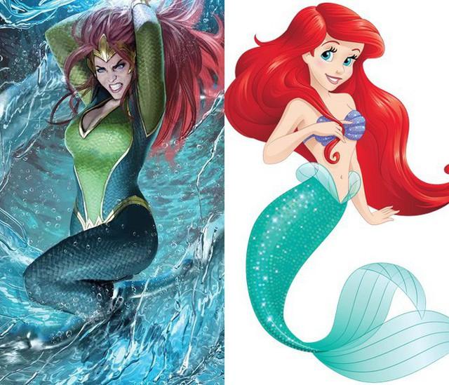 Aquaman: Hóa ra công chúa Mera xinh đẹp chính là phiên bản hiện đại của nàng tiên cá Ariel mà không ai hay! - Ảnh 1.