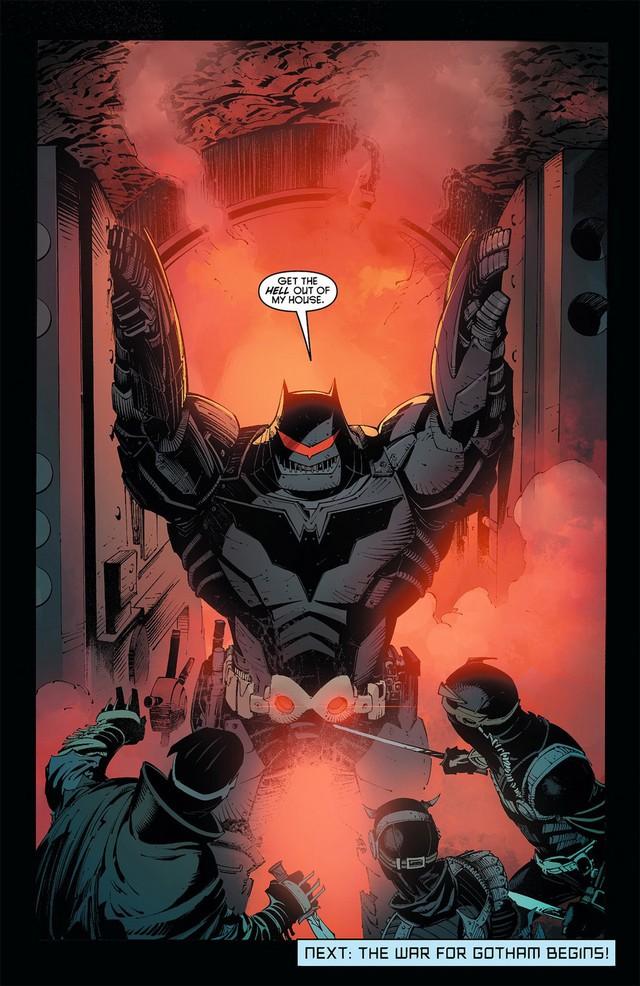5 chiến giáp siêu khủng Batman từng sở hữu: Bộ thứ 3 đã hạ gục những siêu anh hùng mạnh nhất thế giới như Aquaman và Superman - Ảnh 1.
