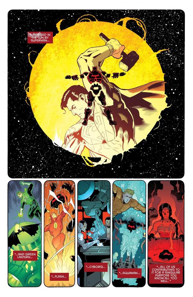 5 chiến giáp siêu khủng Batman từng sở hữu: Bộ thứ 3 đã hạ gục những siêu anh hùng mạnh nhất thế giới như Aquaman và Superman - Ảnh 3.