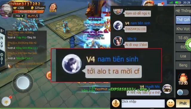 """Tam Sinh Tam Thế: Vừa được khen """"server không thích phốt"""" xong, game thủ server 2 đã... vả vào mồm người viết bằng màn nổ địa chỉ cực gắt - Ảnh 4."""