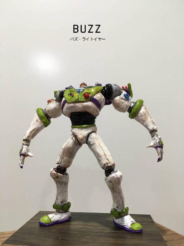 Bộ mô hình đồ chơi nhân vật hoạt hình vừa bựa vừa ngầu hết phần thiên hạ - Ảnh 3.