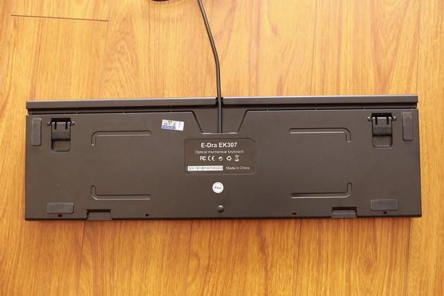 Cận cảnh E-Dra EK307: Bàn phím cơ quang bền bỉ, chống được cả nước tràn - Ảnh 7.