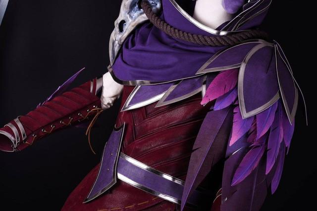 LMHT: Bang nhá hàng bộ trang phục cosplay Xayah chất phát ngất, kèo này ăn đứt Sneaky rồi - Ảnh 5.