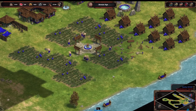 Thay đổi lớn nhất trong bản DE đó là không thể bug ruộng và các đơn vị quân đều có thể chạy xuyên qua nền địa hình này.