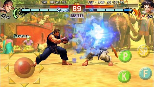 Tải ngay Street Fighter IV: Champion Edition - Game đối kháng huyền thoại vừa lên Android, hỗ trợ cả gamepad