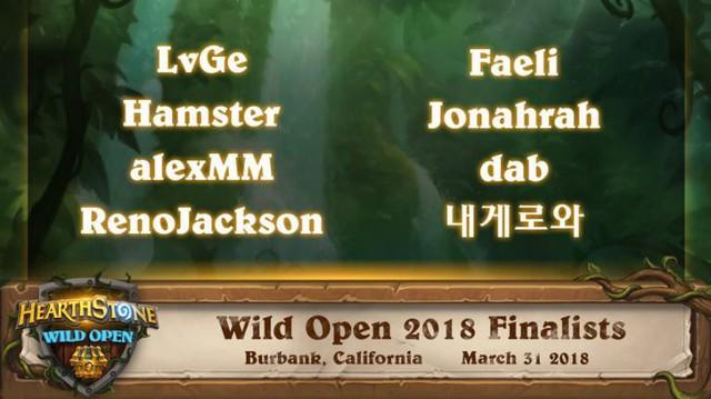 RenoJackson - Ngô Minh Đức xuất sắc dành vị trí trong Top 8 game thủ tài năng sẽ tham gia vòng Chung Kết Hearthstone Wild Open 2018