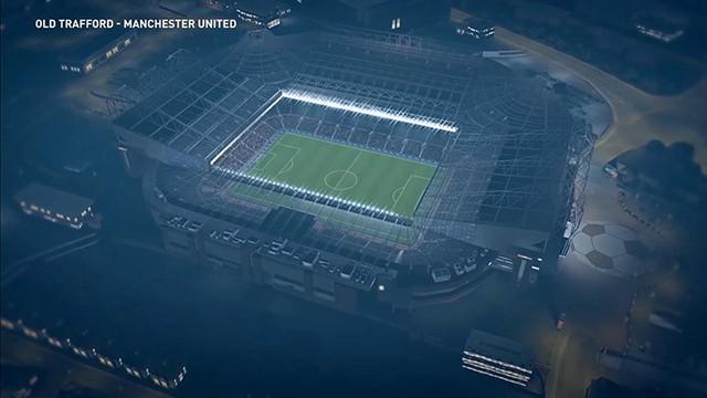 Sân vận động cực cool.