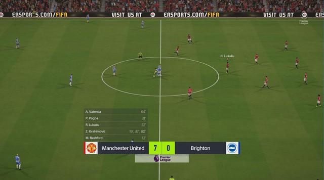 Trận đấu đầu tiên của tôi tại FIFA Online 4 đó là màn hủy diệt Brighton 7-0!